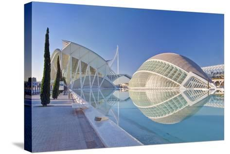 City of Arts and Sciences, Valencia, Spain-Rob Tilley-Stretched Canvas Print