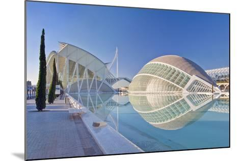 City of Arts and Sciences, Valencia, Spain-Rob Tilley-Mounted Photographic Print