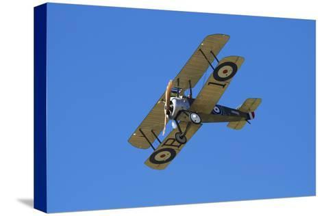 Sopwith Camel, WWI Fighter Plane, War Plane-David Wall-Stretched Canvas Print