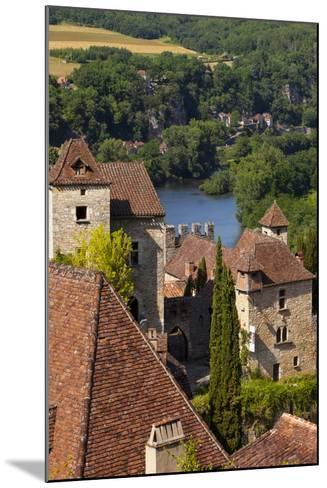 Saint-Cirq-Lapopie in the Lot Valley, Midi-Pyrenees, France-Brian Jannsen-Mounted Photographic Print