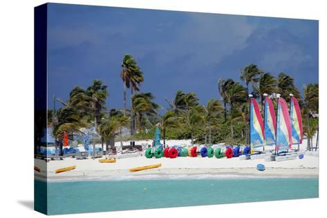 Watercraft Rentals at Castaway Cay, Bahamas, Caribbean-Kymri Wilt-Stretched Canvas Print