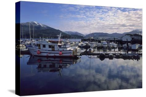 Fishing Boats, Prince Rupert, British Columbia, Canada-Gerry Reynolds-Stretched Canvas Print