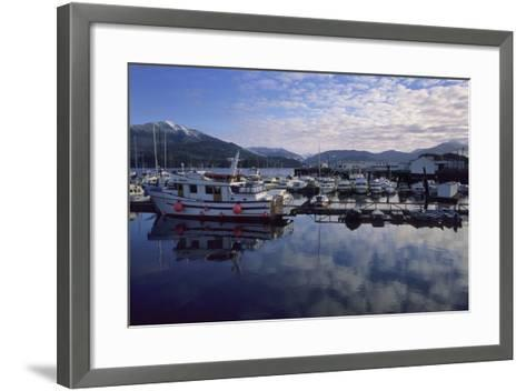 Fishing Boats, Prince Rupert, British Columbia, Canada-Gerry Reynolds-Framed Art Print