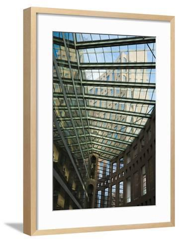 Vancouver Public Library, Vancouver, British Columbia, Canada-Walter Bibikow-Framed Art Print