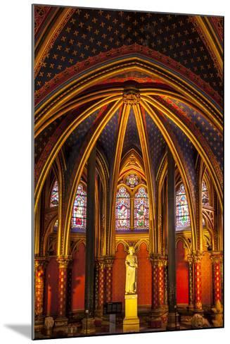 The Lower Chapel, Sainte Chapelle, Paris, France-Brian Jannsen-Mounted Photographic Print