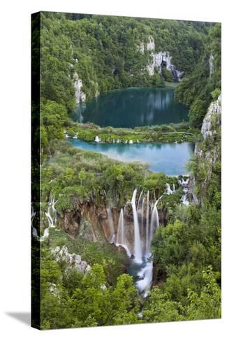 Plitvice Lakes in the National Park Plitvicka Jezera, Croatia-Martin Zwick-Stretched Canvas Print