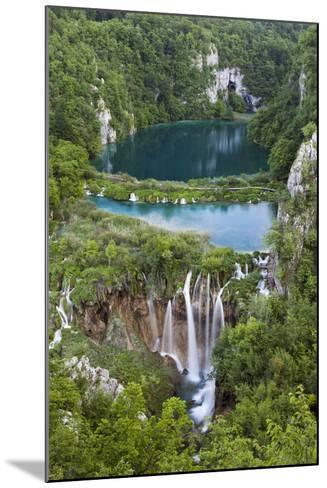 Plitvice Lakes in the National Park Plitvicka Jezera, Croatia-Martin Zwick-Mounted Photographic Print