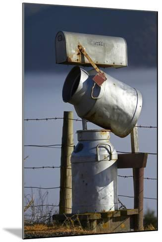 Letterbox Made from Milk Churns, Dunedin, South Island, New Zealand-David Wall-Mounted Photographic Print