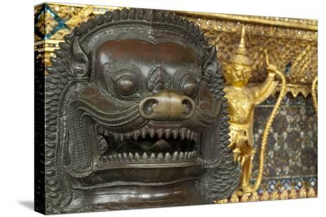 Royal Monastery of Emerald Buddha, Grand Palace, Wat Phra Keo, Bangkok, Thailand-Cindy Miller Hopkins-Stretched Canvas Print