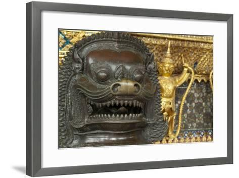 Royal Monastery of Emerald Buddha, Grand Palace, Wat Phra Keo, Bangkok, Thailand-Cindy Miller Hopkins-Framed Art Print