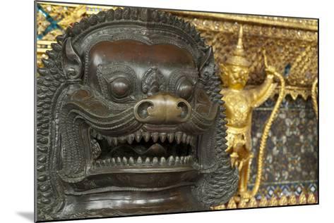 Royal Monastery of Emerald Buddha, Grand Palace, Wat Phra Keo, Bangkok, Thailand-Cindy Miller Hopkins-Mounted Photographic Print