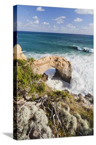 The Arch, Great Ocean Road, Shipwreck Coast, Australia-Martin Zwick-Stretched Canvas Print