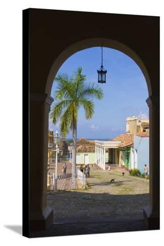 Old City Gate, Trinidad, UNESCO World Heritage Site, Cuba-Keren Su-Stretched Canvas Print