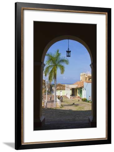Old City Gate, Trinidad, UNESCO World Heritage Site, Cuba-Keren Su-Framed Art Print