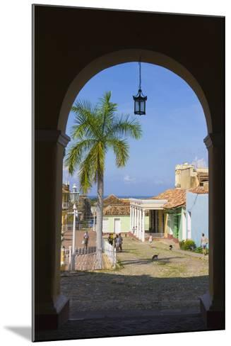 Old City Gate, Trinidad, UNESCO World Heritage Site, Cuba-Keren Su-Mounted Photographic Print