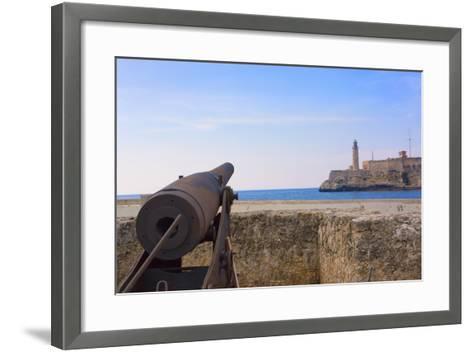 Seawall, El Morro Fort, Fortification, Havana, UNESCO World Heritage Site, Cuba-Keren Su-Framed Art Print