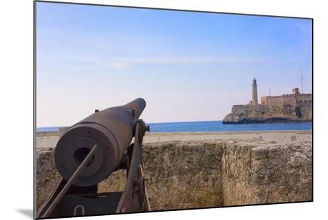 Seawall, El Morro Fort, Fortification, Havana, UNESCO World Heritage Site, Cuba-Keren Su-Mounted Photographic Print