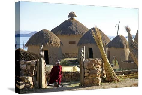 Andean Eco-Village Inca Utama, Lake Titicaca, Huatajata, Bolivia-Kymri Wilt-Stretched Canvas Print