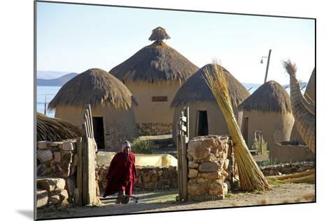 Andean Eco-Village Inca Utama, Lake Titicaca, Huatajata, Bolivia-Kymri Wilt-Mounted Photographic Print