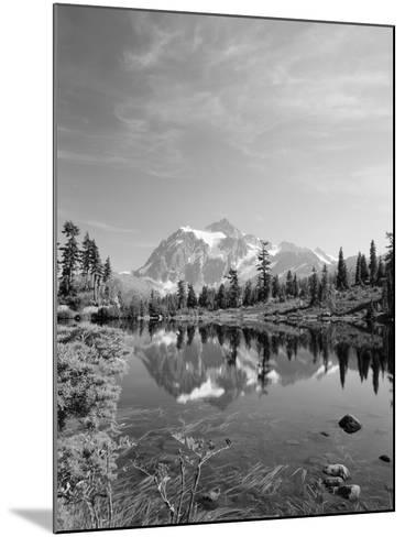 Mt Shuksan with Picture Lake, Mt Baker National Recreation Area, Washington, USA-Stuart Westmorland-Mounted Photographic Print