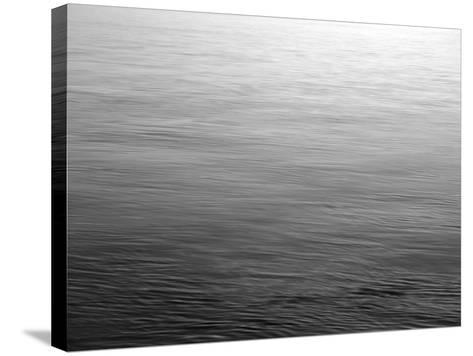 View of Sunset Reflecting in Haro Strait at San Juan Island, Washington State, USA-Stuart Westmorland-Stretched Canvas Print