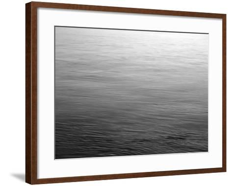 View of Sunset Reflecting in Haro Strait at San Juan Island, Washington State, USA-Stuart Westmorland-Framed Art Print
