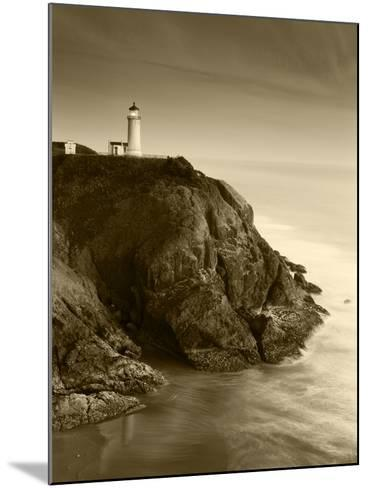 North Head Lighthouse on Cliff, Fort Canby State Park, Washington, USA-Stuart Westmorland-Mounted Photographic Print