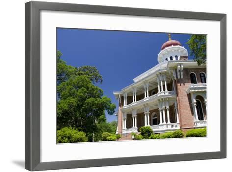 Longwood' House Built in Oriental Villa Style, 1859, Natchez, Mississippi, USA-Cindy Miller Hopkins-Framed Art Print