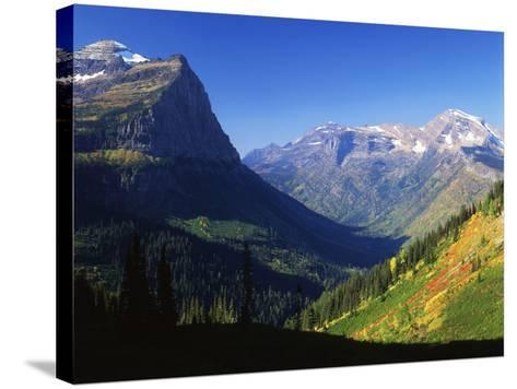 Autumn Near Logan Pass, Glacier National Park, Montana, USA-Adam Jones-Stretched Canvas Print