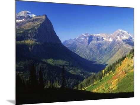 Autumn Near Logan Pass, Glacier National Park, Montana, USA-Adam Jones-Mounted Photographic Print