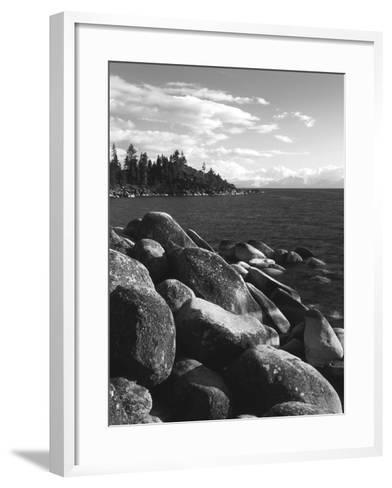 View of Lake Tahoe, Lake Tahoe Nevada State Park, Nevada, USA-Adam Jones-Framed Art Print