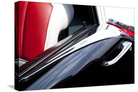 Detail at Classic Car Show, Kirkland, Washington, USA-John & Lisa Merrill-Stretched Canvas Print