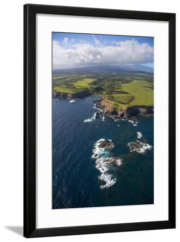 Hana Coast, Maui, Hawaii, USA-Douglas Peebles-Framed Art Print