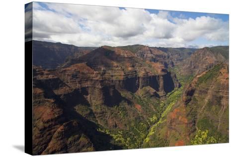 Waimea Canyon, Kauai, Hawaii, USA-Douglas Peebles-Stretched Canvas Print