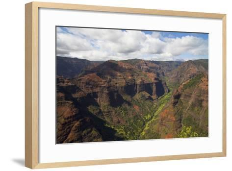 Waimea Canyon, Kauai, Hawaii, USA-Douglas Peebles-Framed Art Print