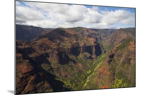 Waimea Canyon, Kauai, Hawaii, USA-Douglas Peebles-Mounted Photographic Print