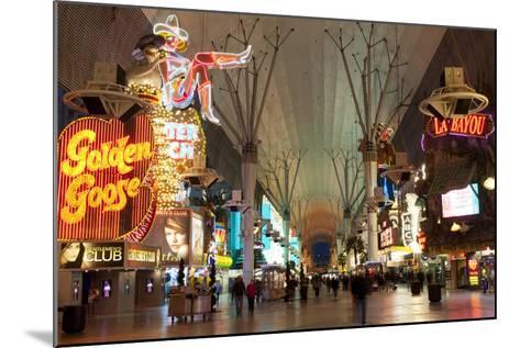 Fremont Street Experience Las Vegas, Nevada, USA-Michael DeFreitas-Mounted Photographic Print