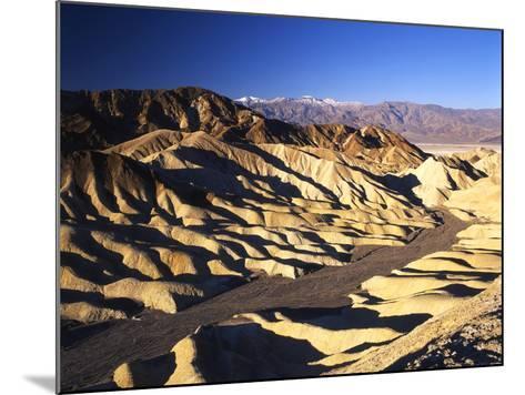 Telescope Peak in Mojave Desert, Death Valley National Park, Zabriskie Point, California, USA-Adam Jones-Mounted Photographic Print
