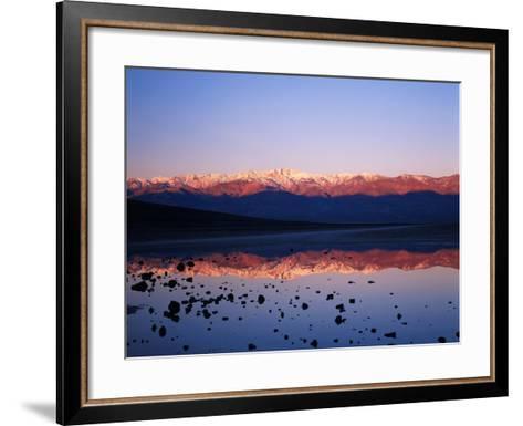 Badwater, Mojave Desert, Death Valley National Park, California, USA-Adam Jones-Framed Art Print