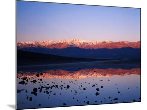 Badwater, Mojave Desert, Death Valley National Park, California, USA-Adam Jones-Mounted Photographic Print