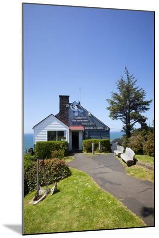 The Lookout Observatory and Gift Shop, Cape Foulweather, Oregon, USA-Jamie & Judy Wild-Mounted Photographic Print