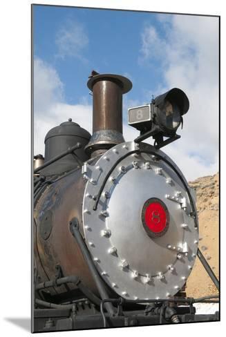 Old Steam Locomotive, Gold Hill Train Station, Virginia City, Nevada, USA-Michael DeFreitas-Mounted Photographic Print