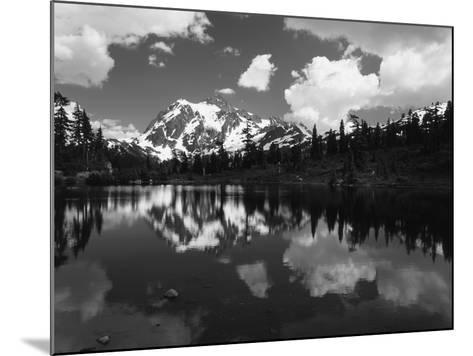 Mt Shuksan with Baker Lake, North Cascades National Park, Washington, USA-Adam Jones-Mounted Photographic Print