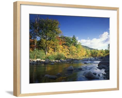 Swift River in Autumn, White Mountains National Forest, New Hampshire, USA-Adam Jones-Framed Art Print