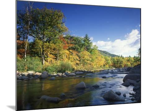 Swift River in Autumn, White Mountains National Forest, New Hampshire, USA-Adam Jones-Mounted Photographic Print