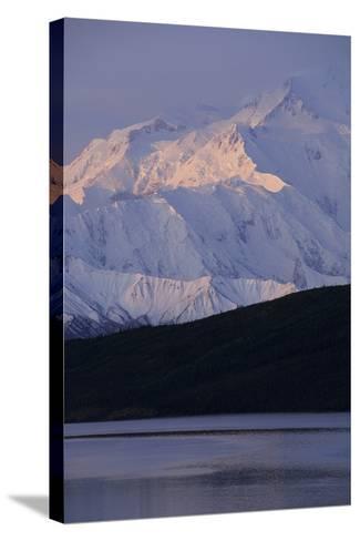 Mount McKinley, Wonder Lake, Sunrise, Denali National Park, Alaska, USA-Gerry Reynolds-Stretched Canvas Print