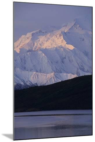 Mount McKinley, Wonder Lake, Sunrise, Denali National Park, Alaska, USA-Gerry Reynolds-Mounted Photographic Print
