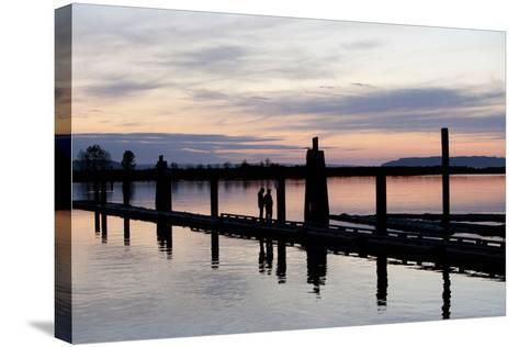 10th Street Marina Park, Port of Everett, Washington, USA-John & Lisa Merrill-Stretched Canvas Print