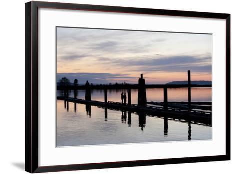 10th Street Marina Park, Port of Everett, Washington, USA-John & Lisa Merrill-Framed Art Print
