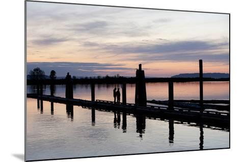 10th Street Marina Park, Port of Everett, Washington, USA-John & Lisa Merrill-Mounted Photographic Print